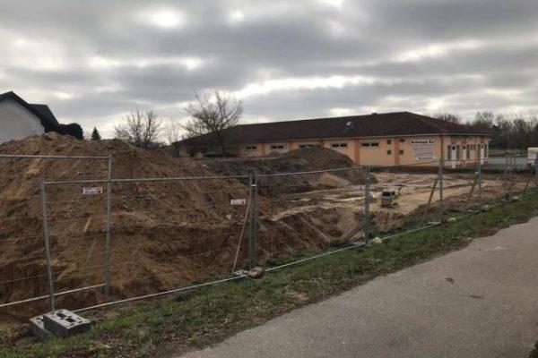 Tiefbauarbeiten neue Firmengebäude Pommernbau (2)