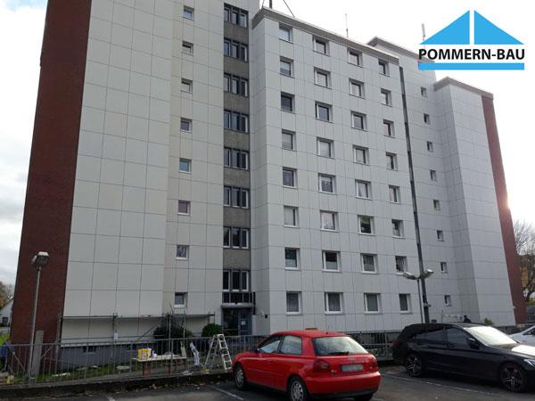 Fassade Eternit Mietwohnungen